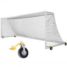 Kwik Goal Fusion 8'x24' Soccer Goal w/ Swivel Wheels, 2B3806SW