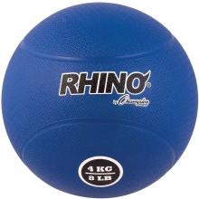 Champion 4 Kilo / 9 lb.Rubber Medicine Ball,  RMB4