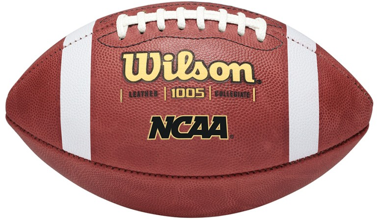 Wilson 1005 Ncaa Official Leather Game Football A47 502