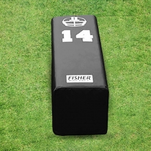 Fisher 14''H x 14''W x 50''L Stepover Football Dummy, SD14