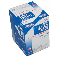 "Gauze Pads - Sterile, 3"" x 3"""