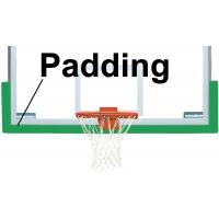 Bison BA68U Dura-Skin Basketball Backboard Edge Padding