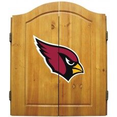 Arizona Cardinals NFL Dartboard Cabinet Set