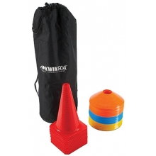 Kwik Goal 6A501 Soccer Cone & Carry Package