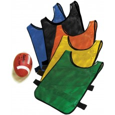 Fisher Easy-On/Off Football Scrimmage Vest Pinnie, SV-100