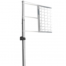 "Porter Powr-Line 3-1/2"" Aluminum Volleyball Uprights, 1991"
