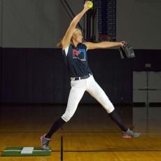 Jennie Finch MP3009 Mini Softball Turf Pitching Mat