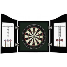 Carmelli Centerpoint Solid Wood Dartboard Cabinet Set