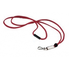 Fox 40 Breakaway Whistle Lanyard, RED