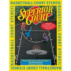 Superior Court Basketball Court Stencil