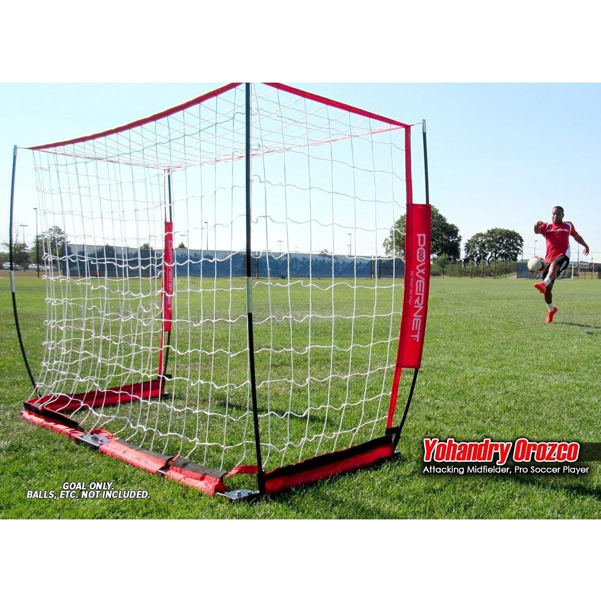 616241015 POWERNET 4' x 6' Pop Up Soccer Goal - A12-505