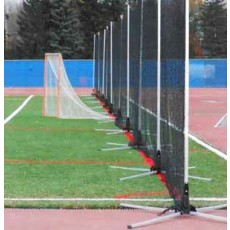 Hot Bed 30'Lx12'H Lacrosse/Soccer Safety Netting System