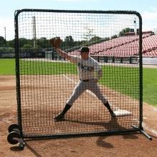 ProMounds Premium 7' x 7' Baseball Protective Screen, Frame & Net