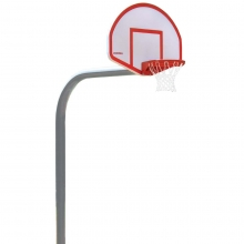 "Porter 6"" Extension, 5-9/16"" diam. Fan Basketball Hoop"