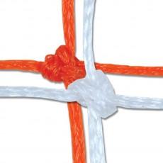 Champro 8' x 24' x 4' x 10' 6MM Braided Soccer Nets,NS6 (pair)