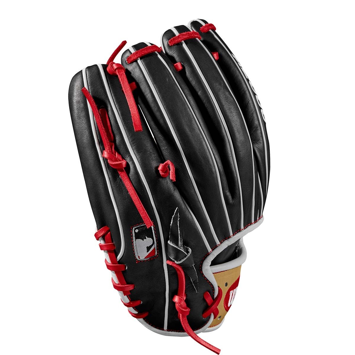 Wilson 11 75 Quot A2000 Black W Blonde Amp Red Baseball Glove