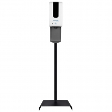 Luminoso Floor Stand Up Touch Free Hand Sanitizer Dispenser