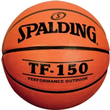 "Spalding TF-150 29.5"" Rubber Basketball"