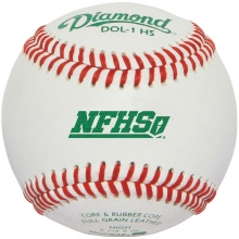Diamond DOL-1 HS, NFHS Official Practice Baseball w/NOCSAE Stamp