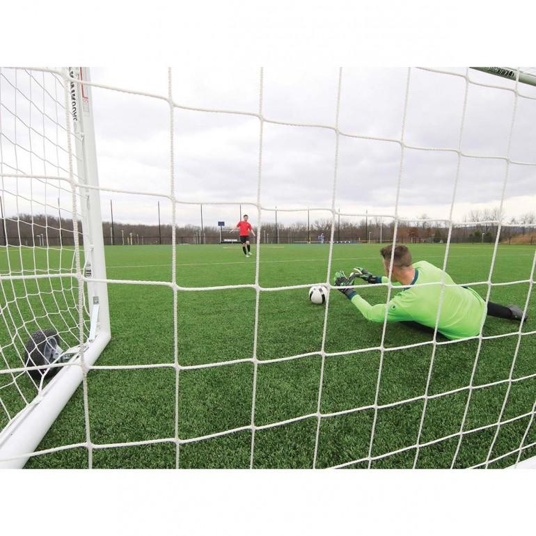 bf909b0e7 Kwik Goal 8'x24' Deluxe European Club Soccer Goal w/ Wheels, 2B3006W ...