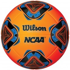 Wilson NCAA Forte Fybrid II Soccer Ball, Neon Orange