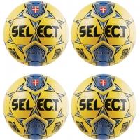 Select NJCAA Super FIFA Match Ball Pkg, Yellow, set of 4