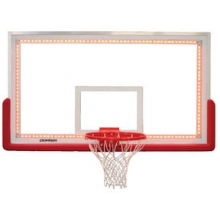 Porter 002080L2 Glass Backboard w/ LED Perimeter Light System