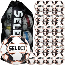 Select 20pk Club DB Soccer Balls Package w/ Bag