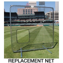 Softball Pitcher's Protective Screen REPLACEMENT NET, 7'H x 7'W