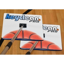 Court Clean Keyclean Pro Basketball Floor Cleaner (pair)