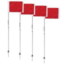 Kwik Goal Soccer Corner Flags 2 Go, set of 4, 6B604