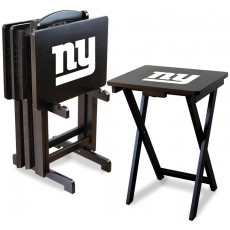 New York Giants NFL TV Snack Tray/Table Set