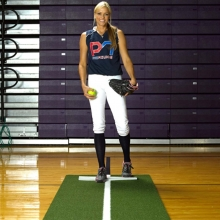 Promounds Jennie Finch Fastpitch Turf Pitching Mat w/ Power Line