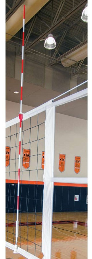 Porter 02296 100 Power Line Volleyball Net Antennae Pr A25 703 Anthem Sports