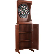 Carmelli Outlaw Free Standing Dartboard Cabinet Set