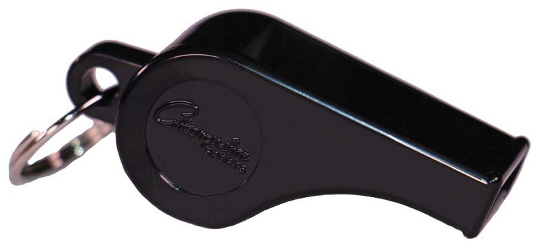 Best Sport Plastic Whistle Black