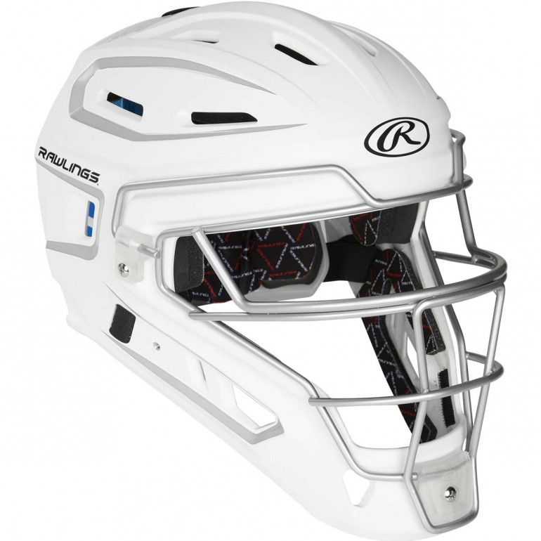 Rawlings Velo Series Protective Chin Cup for Catchers Mask Black