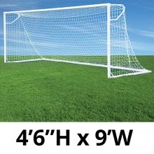 Jaypro 4.5' x 9' Round Nova Club Goals, RCG-9S (pair)