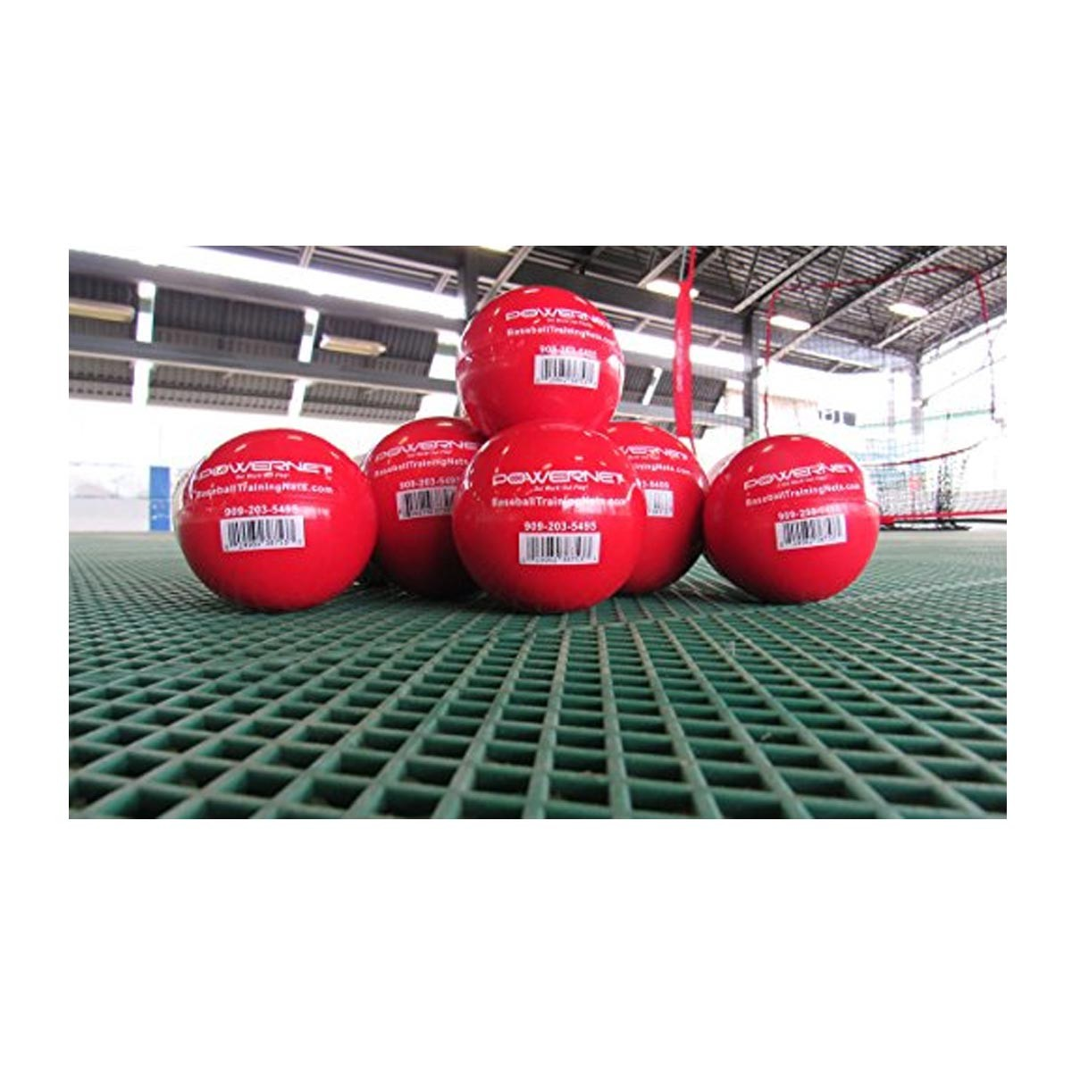 Powernet Heavy Weighted Training Balls 2 8 Quot 6 Pk