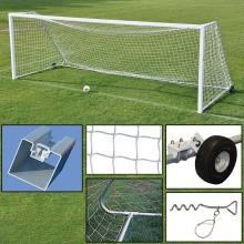 Jaypro 8' x 24' Official Soccer Goal PACKAGE, SGP-760PKG