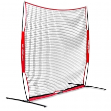 POWERNET 8'Hx8'W Portable Barrier Sport Net