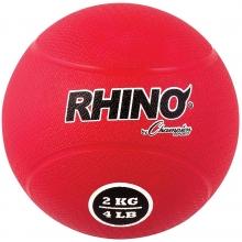 Champion 2 Kilo / 4 lb. Rubber Medicine Ball, RMB2