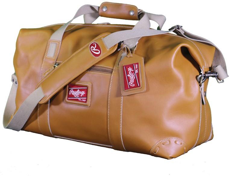 Rawlings Leather Travel Duffle Bag e53b5f450f