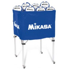 Mikasa BCSPSH Volleyball Cart, ROYAL