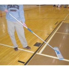 "Court Clean TKH120 24"" Key Clean Basketball Floor Cleaner (PAIR)"