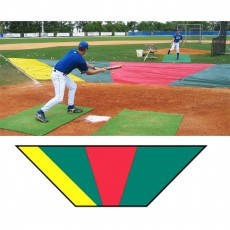 Minor League Bunt Zone Infield Protector, 20'x24'x64'