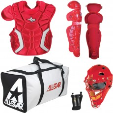 All-Star CK912PS Player's Series Catcher's Equipment Kit, YOUTH ages 9-12