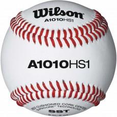Wilson A1010BHS1SST NFHS Baseballs, dz w/NOCSAE