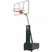 Bison Club Court Portable Basketball Hoop, w/ Acrylic Backboard