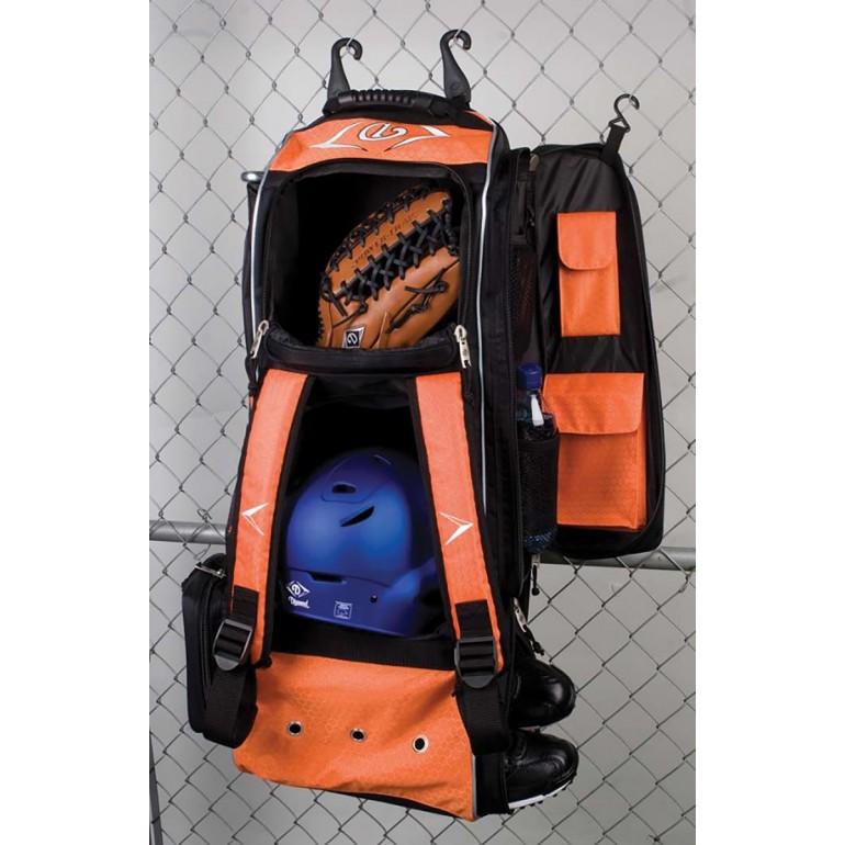 Diamond Boost Wheeled Baseball/Softball Equipment Bag, 35''Lx13''Wx12''H